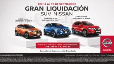Photo of Nissan Perú lanza campaña comercial para su línea SUV