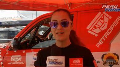 Photo of Fernanda kanno lista para la etapa 2 de Rally Caminos del Inca