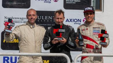 Photo of Riflo Flores se vuelve a subir al podio de la Porsche GT3 Cup de Argentina y el campeonato es posible.
