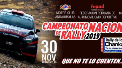 Photo of Rally de los Chankas 2019: Inscritos al primer cierre