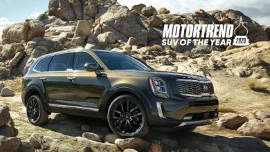 """Photo of KIA Telluride 2020 es nombrado """"SUV del Año"""" por MotorTrend"""