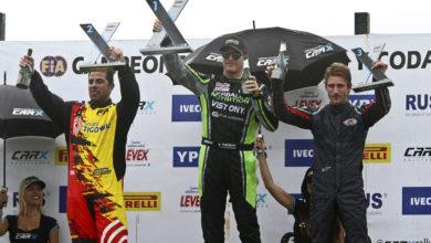 Photo of NicoFuchs obtuvo podio en Rallycross argentino y continua firme por el título