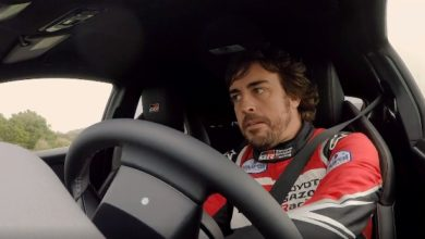 Photo of Fernando Alonso y el nuevo Toyota GR Yaris