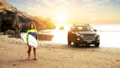 Photo of Campeona Panamericana de Surf, Daniella Rosas, nueva embajadora de Hyundai
