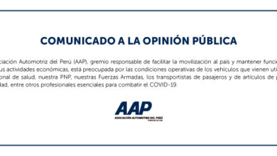 Photo of Asociación Automotriz invoca al gobierno a autorizar actividades esenciales mínimas para atender al transporte en situación de emergencia