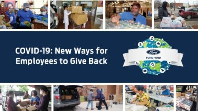 Photo of Ford anuncia programa de donación mundial y nuevas oportunidades virtuales para ayudar a luchar contra el COVID-19