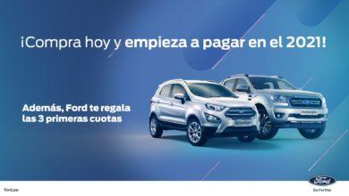 Photo of Compra hoy un vehículo Ford y empieza a pagarlo en 2021