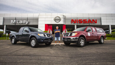 "Photo of Nissan Frontier ""Million Mile"" regresó a casa tras 13 años de manejo ininterrumpido"